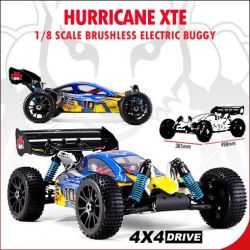 Redcat Racing Hurricane XTE Parts