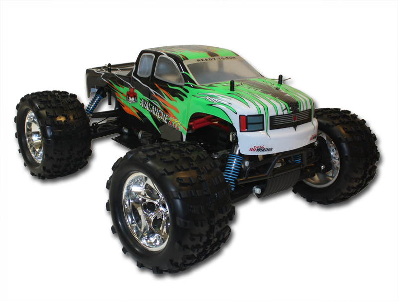 AVALANCHE-XTE 1/8 Truck Brushless