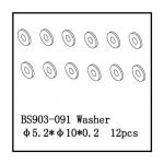 Washer A(?5.2*10*0.2) 12 PCS