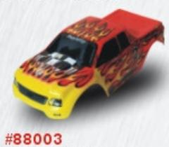 88003 Red Flame Volcano body
