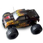 Sumo RC 1/24 Scale Truck Yellow Flame