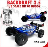 Redcat Racing Backdraft 3.5 1/8 Scale Nitro Buggy