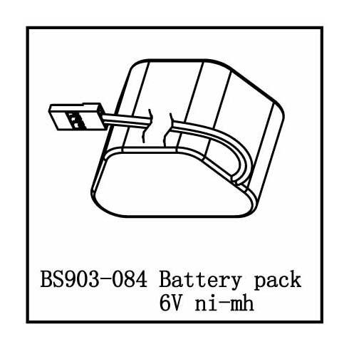 Battery Pack 6V (Ni-Mh)