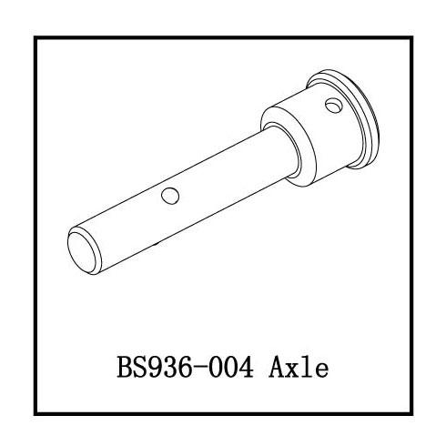 BS936-004 Front/Rear Stub axle