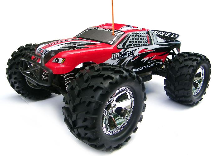 Redcat Racing Earthquake 3.5 1/8 Scale Nitro Monster Truck