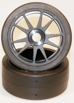 1/8 Buggy Pre Mounted Racing Slicks for 17mm Hubs